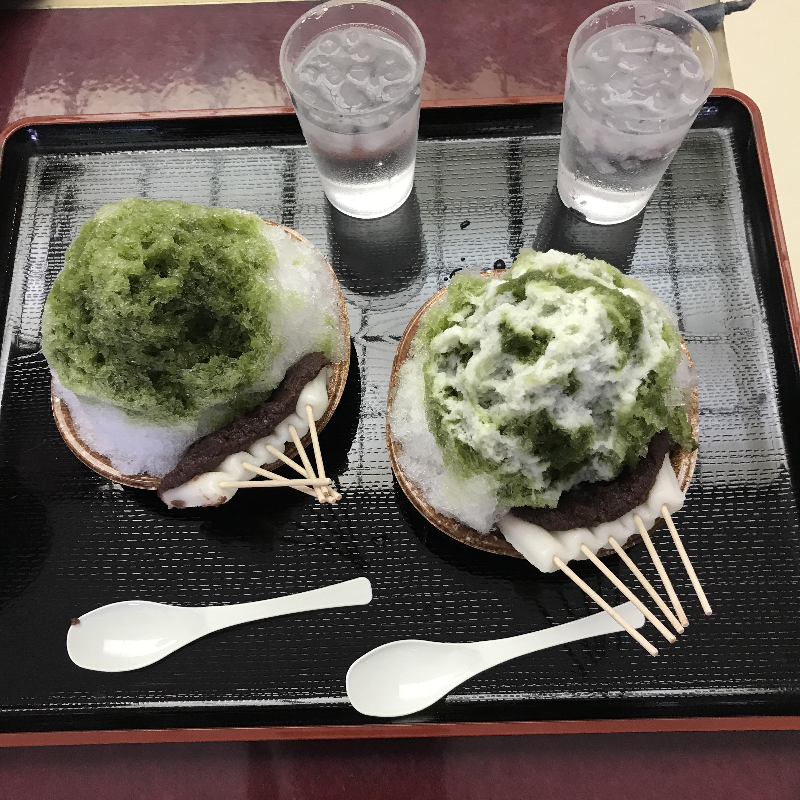 法多山で期間限定 かき氷 「厄除氷」を食べに行ってきた